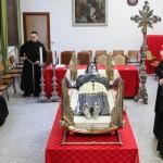 vista integrale del santo - teca San Giuseppe da Copertino
